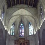 Absis de la Capella de Santa Àgata